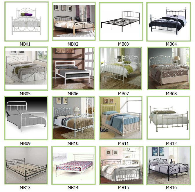 Wholesale New Bed Type Popular Latest Wrought Iron Beds Designs Metal Bed  with Crystal Finials. Wholesale New Bed Type Popular Latest Wrought Iron Beds Designs