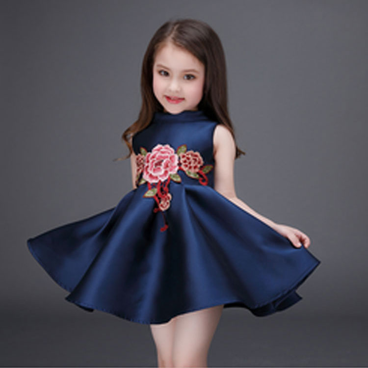 wholesale children latest design dress kids new model baby cotton frock design for girl of 10 and 12 years old