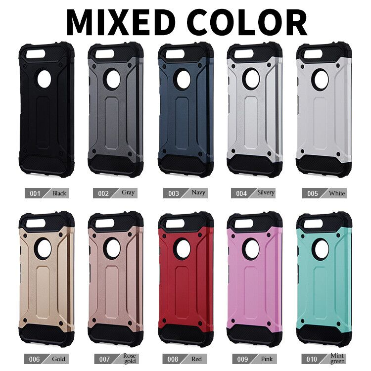 2 In 1 Hard PC + Soft Silicone Combo Armor Case For Google Pixel &Amp; Google Pixel XL Mobile Phone Case