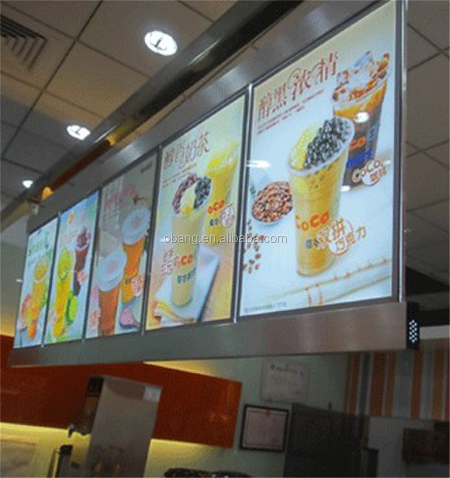 High Brightness E-ink Printing Long Life El poster / El billboard / El Poster Advertisement