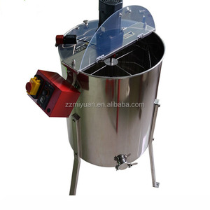 China Professional Automatic Honey Production Equipment,4 Frame Manual Honey Making Equipment