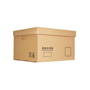 Corrugated Paper File Document Storage Box Cheap Durable Archive Boxes