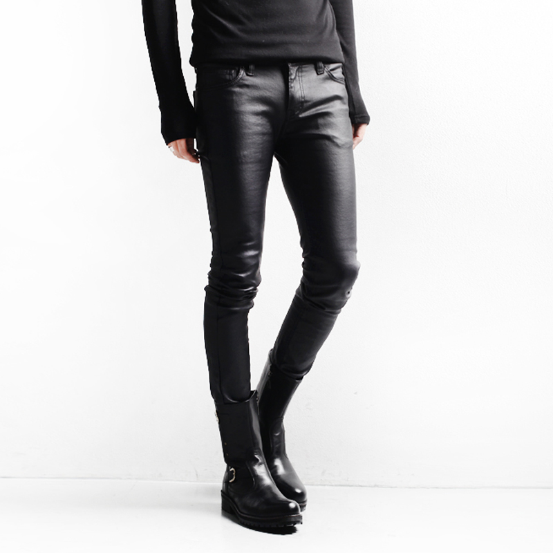 6990614c25 Xelement  Classic  Men s Black Loose Fit Leather Pants Brand Name Pants by  Xelement.