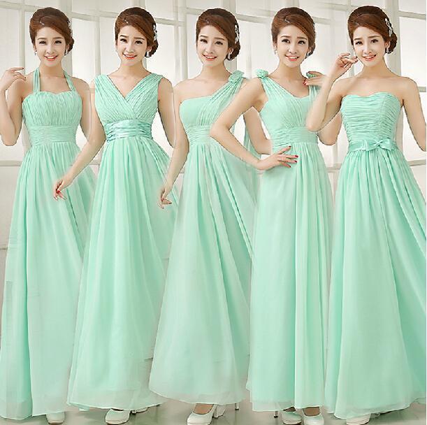 28bcb808e0 Vestidos para damas de boda color verde menta – Vestidos madrina