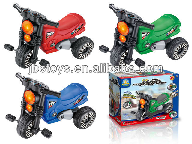Simulational kid's motorcycle / baby car for 3 year and up