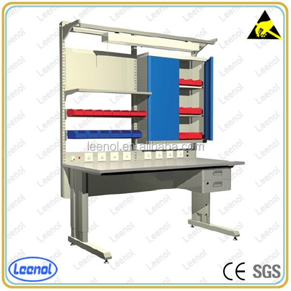 Esd mesa de trabajo pesado para el laboratorio y taller de - Mesa trabajo taller ...