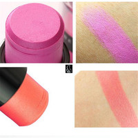 Eyeshadow pencil, multi-colored shimmer eye shadow stick, easily colored and remove cosmetics makeup