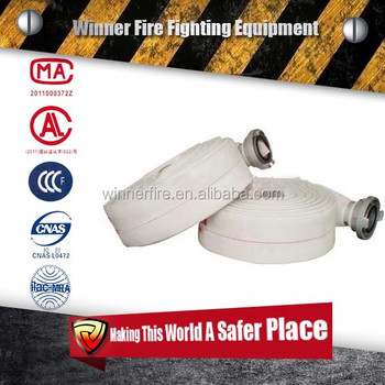 ul pvc fire hose of fire fighting equipments