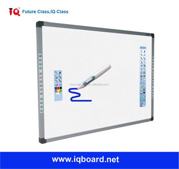 china smart touch screen interactive whiteboard with pen - Electronic Whiteboard