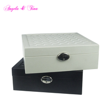 2017 Shenzhen Design wood black and white jewelry gift boxes