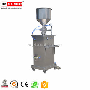 Small Beverage/High Viscosity Liquid Filling Machine