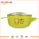 Mumlove hot water injection baby bowl with silicone base