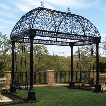 Beautiful Wrought Iron Garden Gazebo