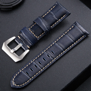 Hotsale leather Rubber Diver Mens Watch Band - Quick Release Strap - Choice of Buckle - 20mm 22mm 24mm 26mm
