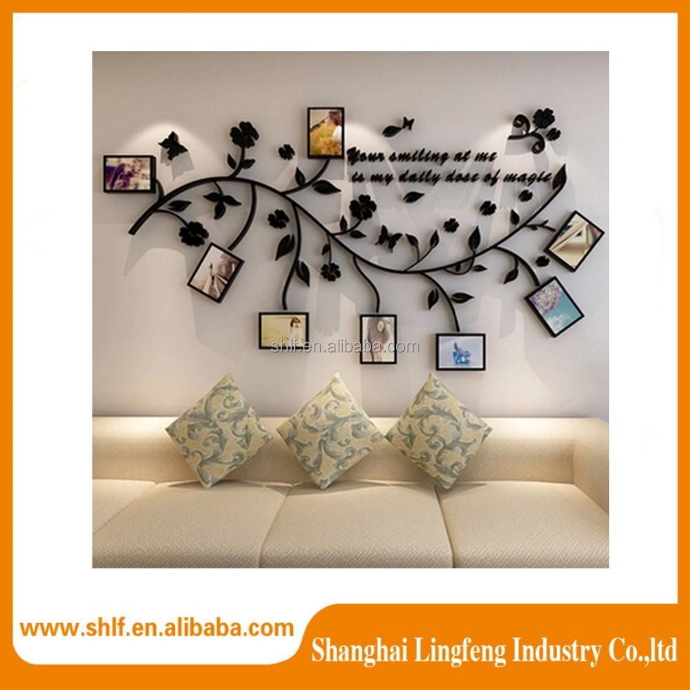 Venta al por mayor decorar paredes con fotos familiares - Decorar con fotos familiares ...