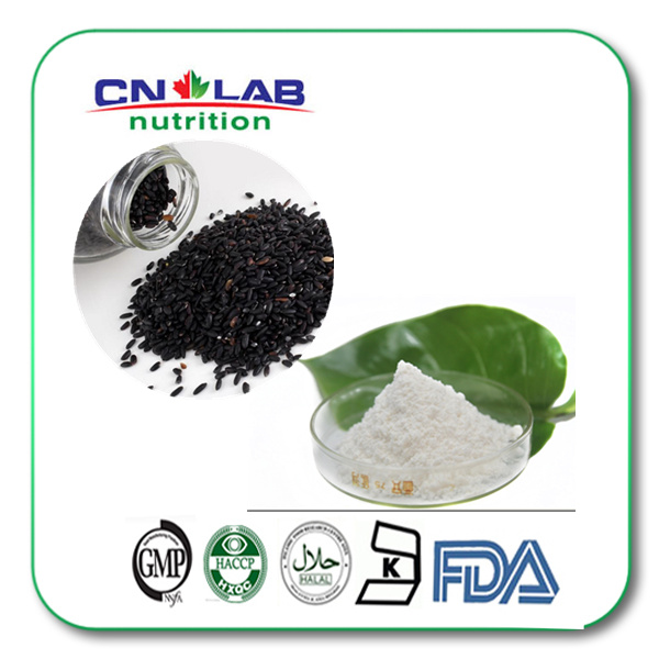 100% natural black sesame extract sesamin powder