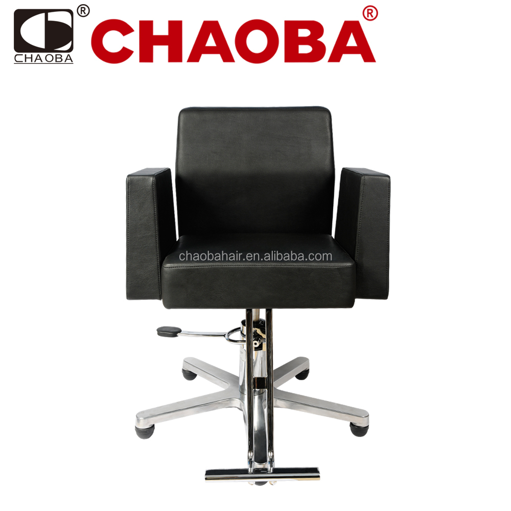 New Design Used Beauty Salon Furniture Hydraulic Styling Chair With Five Star Base SU-4048