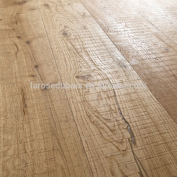Alibaba China Rustic Saw Marks Smoked Oak Distressed Engineered Wood