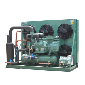 Refrigeration Condensing Unit With Bitzer Single Stage Or 2 Stage Compressor, Air Cooled or Water Cooled 30hp