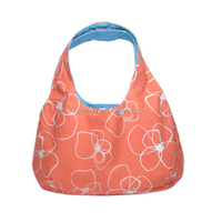 2015 Custom design coral hobo bag, beach hobo bag ,casual bag from factory