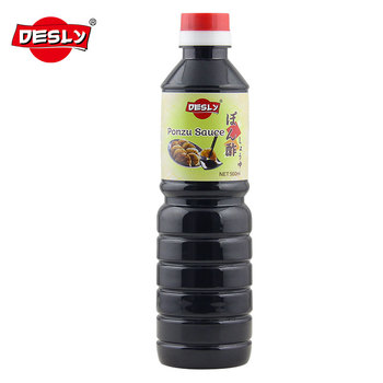 Best selling 500ml made in China Ponzu Sauce