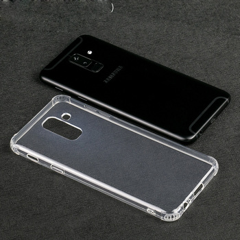 newest 91599 240cd Transparent Shockproof Tpu Phone Cover For Samsung Galaxy A6 Plus J8 Plus  2018 - Buy Tpu Case For A6plus,Shockproof Case For Galaxy J8 2018,Phone ...