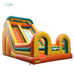 Middle East Style Giant Inflatable Bounce Jumping Castles Water Slide