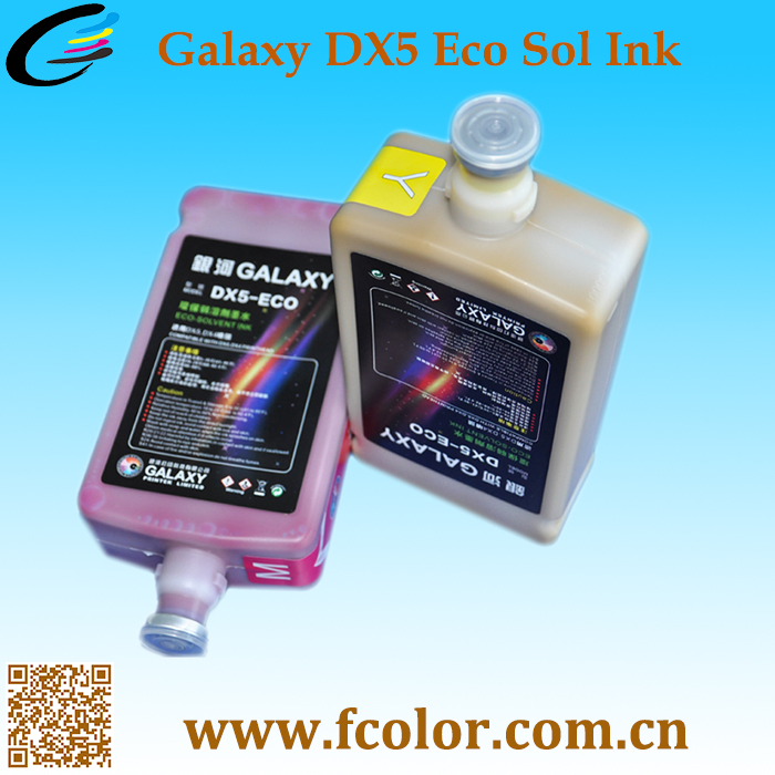 Original Galaxy Ink For Mimaki Roland Mutoh Eco Solvent Ink DX5