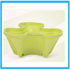 De haute qualité en plastique empilable pot vertical pot