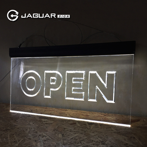 Hot sale factory price custom size double side outdoor led open sign