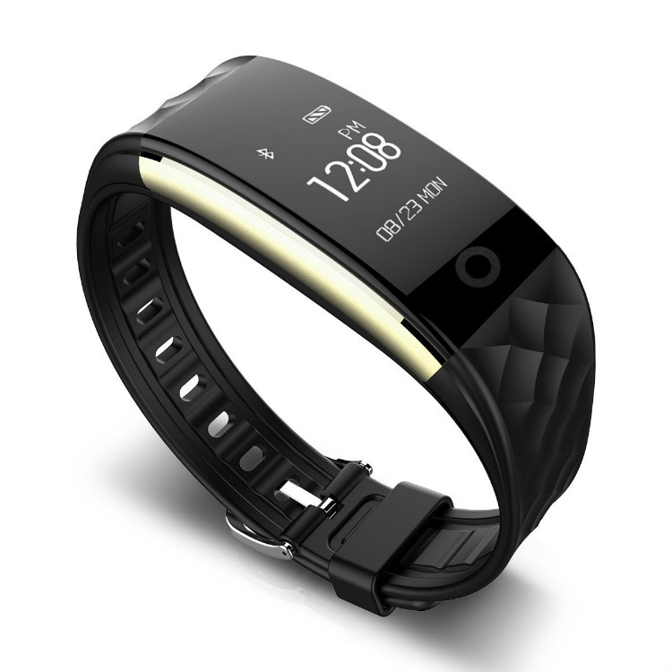 Waterproof Calorie and Heart Rate Measuring Smart Watch Men Fitness Tracker Band S2 фото