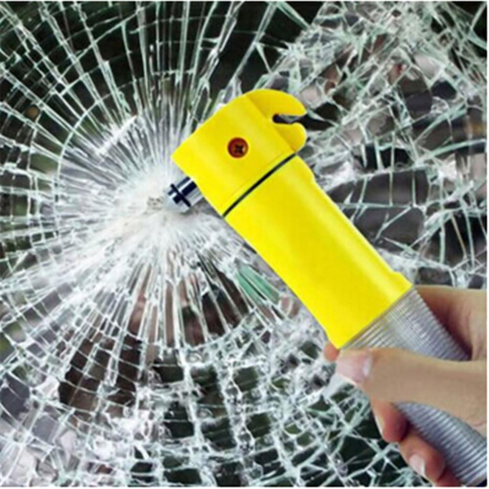 2016 новый молотка многофункциональный 4in1 аварийного спасения молоток фонарик световых сигналов сиденье резак ремня безопасности автомобиля инструмент