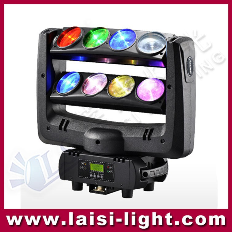 8x10W 4in1 Beam led spider beam light , moving head light used with the advantage of longlife and saving energy