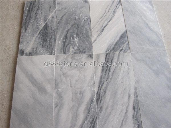 Top Quality price of italian statuario marble Cloudy Grey Polished Marble tiles/slabs for sale