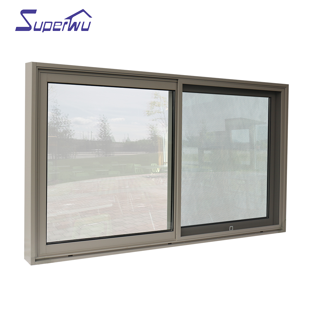 Solution to hurricane proof Electronic Component Transistor double glazed aluminum fixed window  in Australia USA market