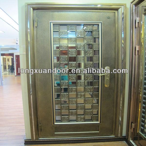 Singel Security Luxurious Gate Stainless Steel Grill Door