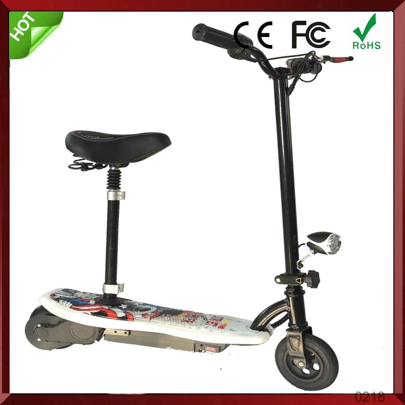 electric car scooter ride on kids kick pedal scooter on sale