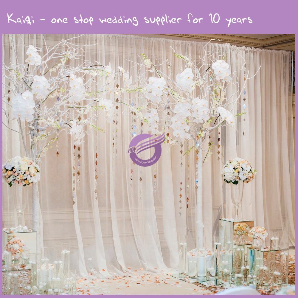Qf00248 Fashion Show Stage Voile Wedding Backdrops For Sale Buy