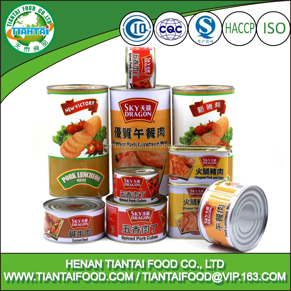 HACCP canned meat