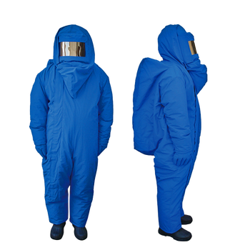 Cryo protection Liquid Nitrogen low temperature protective resistant clothing