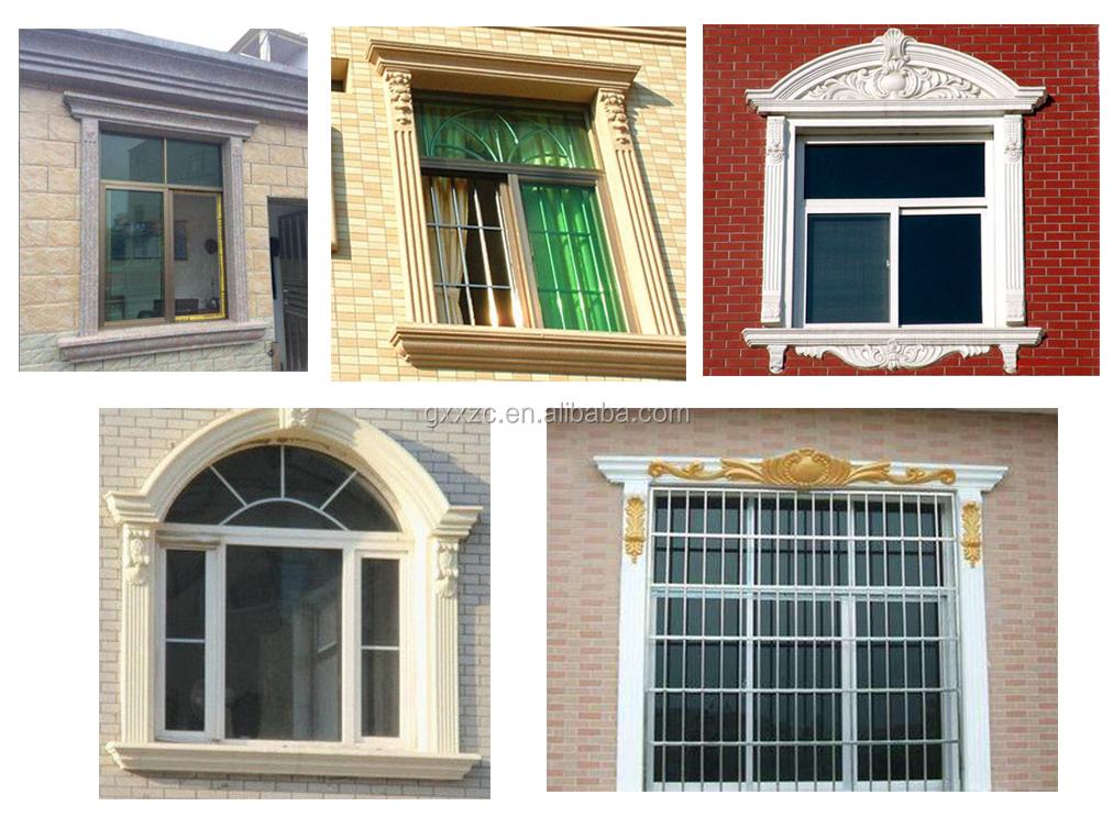 Decorative Concrete Window Moulding