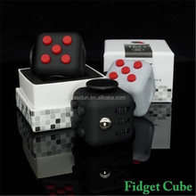 2017 Premium Quality EDC Focus Fidget Toy Anti Stress Magic Anxiety Fidget Cube for Adults and Children