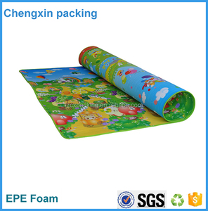 large size non slip custom printed educational baby play mat,baby play mat with maps designs