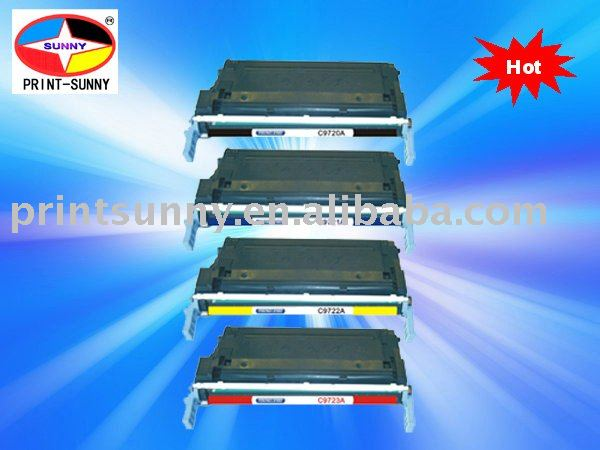 compatible laser toner cartridge for HP9720A,9721A,9722A,9723A,for hp laser jet 4600/4650