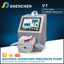 High accuracy low volume transfer pump