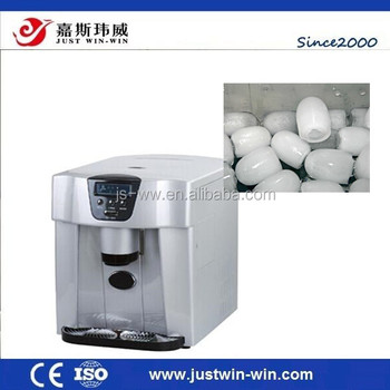 Full Automatic Small Portable Ice Maker With Water Dispenser/ Bullet Ice