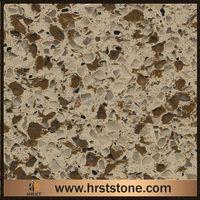 polished artificial quartz stone slab