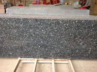 Hot sale Norway blue pearl granite fireplace hearth slab price