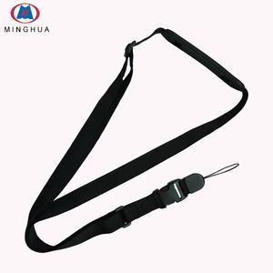 New design universal adjustable length camera neck strap polyester mobile phone shoulder strap