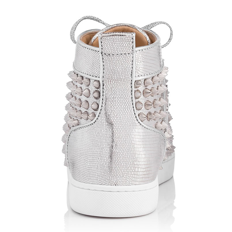 Lady Lace Latest Sneakers Sport Ankle Up Design Women Studded High Shoes r4rxf